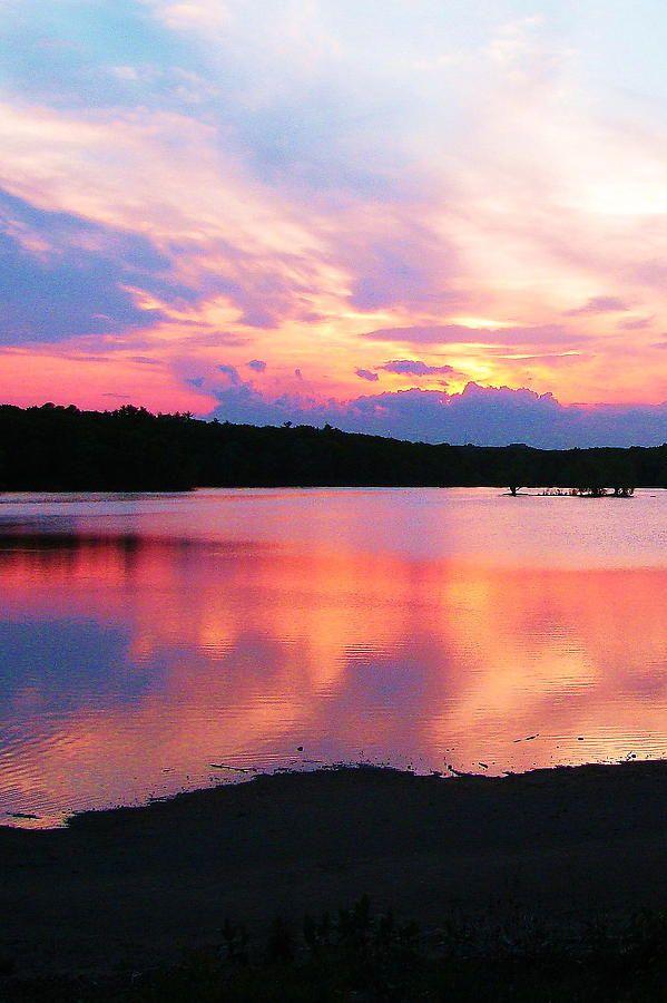 Water Sunset, What A Beautiful World