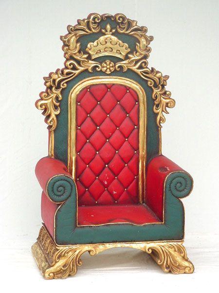 Смешная, открытка трон