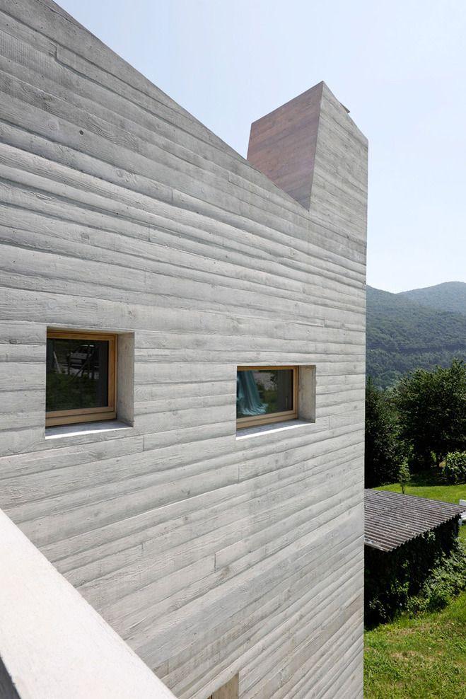 Lukas Meyer Ira Piattini Architetti 5 Case A Barbengo Architecture Exterior Architecture House Designs Exterior