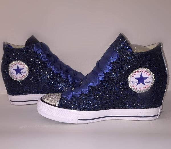 Sparkly Glitter Converse All Stars Lux
