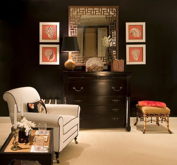 bb2be6ca54f Black Walls 23 30 Exquisite Black Wall Interiors for a Modern Home ...