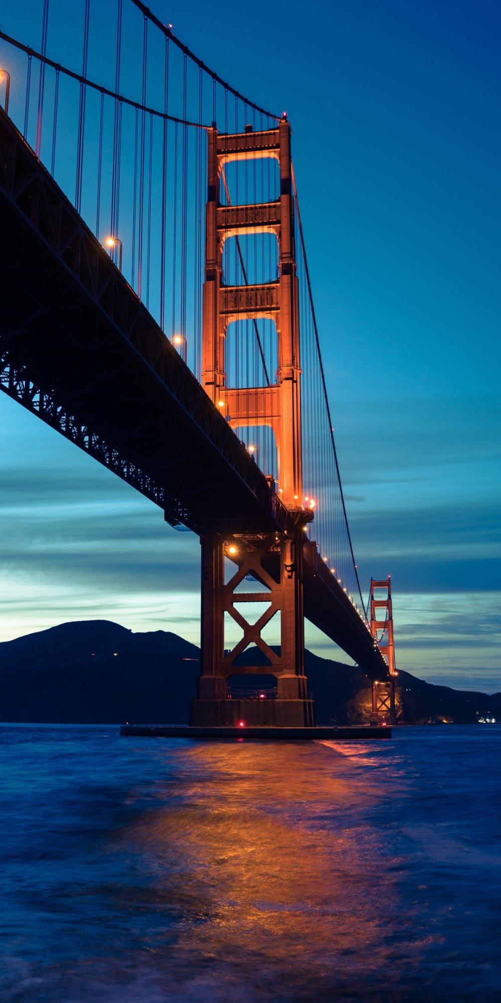 Ultra Hd Iphone Wallpapers Bridge Sea Landscape 6wallpaper Wallpaprs Background Iphone Iphone11 Ip San Francisco Wallpaper Landscape Visit San Francisco