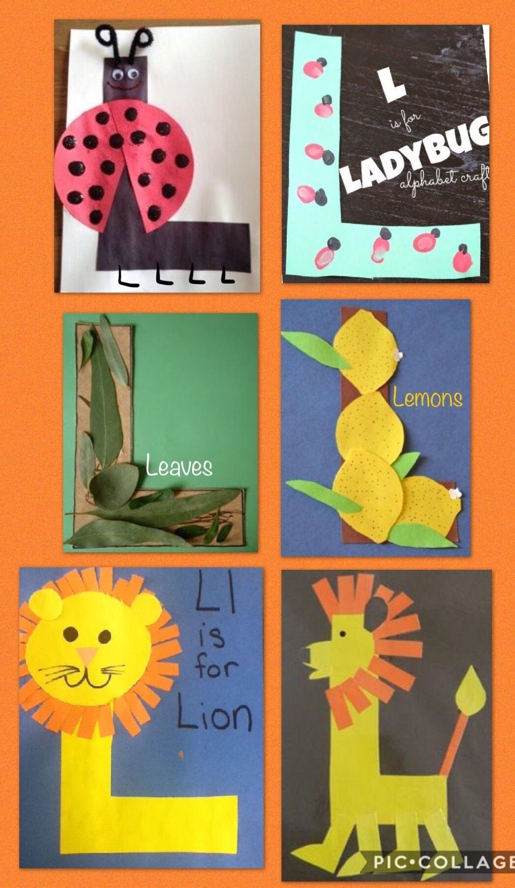 Preschool letter L , Letter