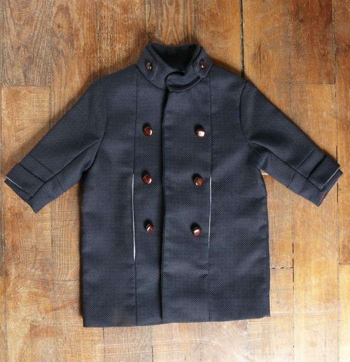 OFFICER COAT DRIES  www.borntobeyoung.com