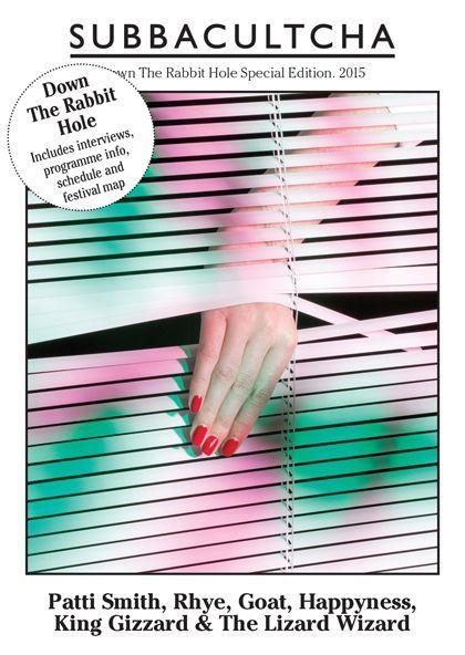 Lonneke van der Palen en couverture de Subbacultcha