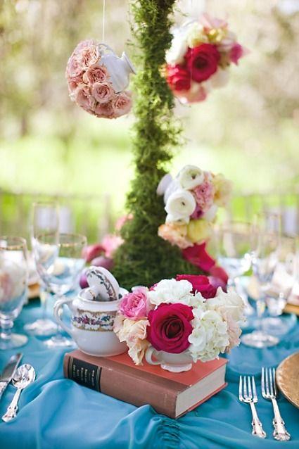 d coration florale alice au pays des merveilles kim le photography. Black Bedroom Furniture Sets. Home Design Ideas
