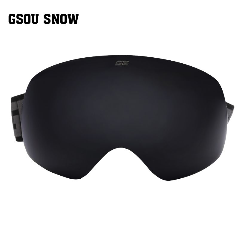 99259886b6c Gsou snow brand ski goggles men women ski glasses snowmobile skiing and  snowboarding goggles double lens