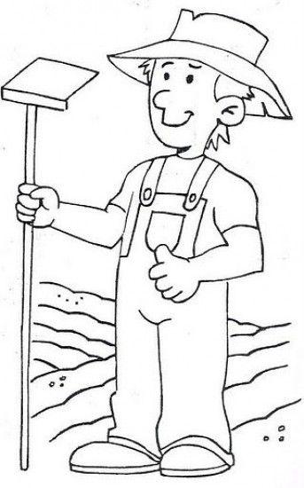 Bellos Dibujos Del Campesino Unete Y Celebra El Dia Del Campesino 24 De J Oficios Y Profesiones Actividades De Arte Para Preescolares Oficios Y Profeciones