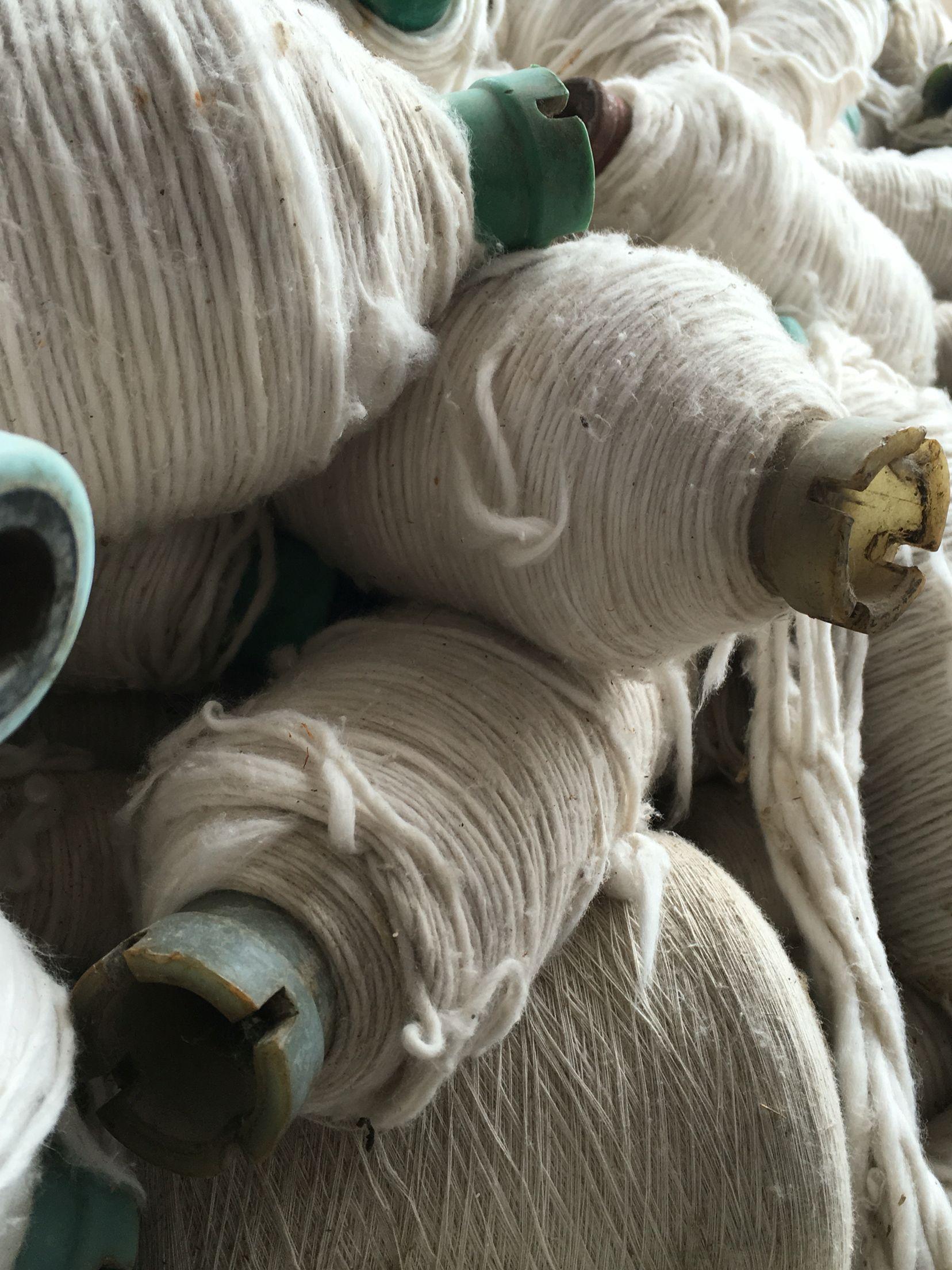 YE' ii México | viejos carretes | Lana | ex fábrica de textiles