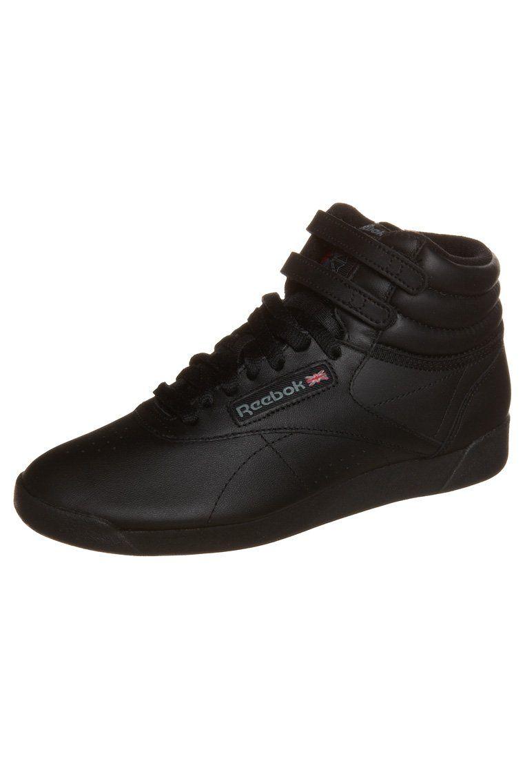 Reebok Chaussures De Sport Classique Haut Noir I4CPlpQ