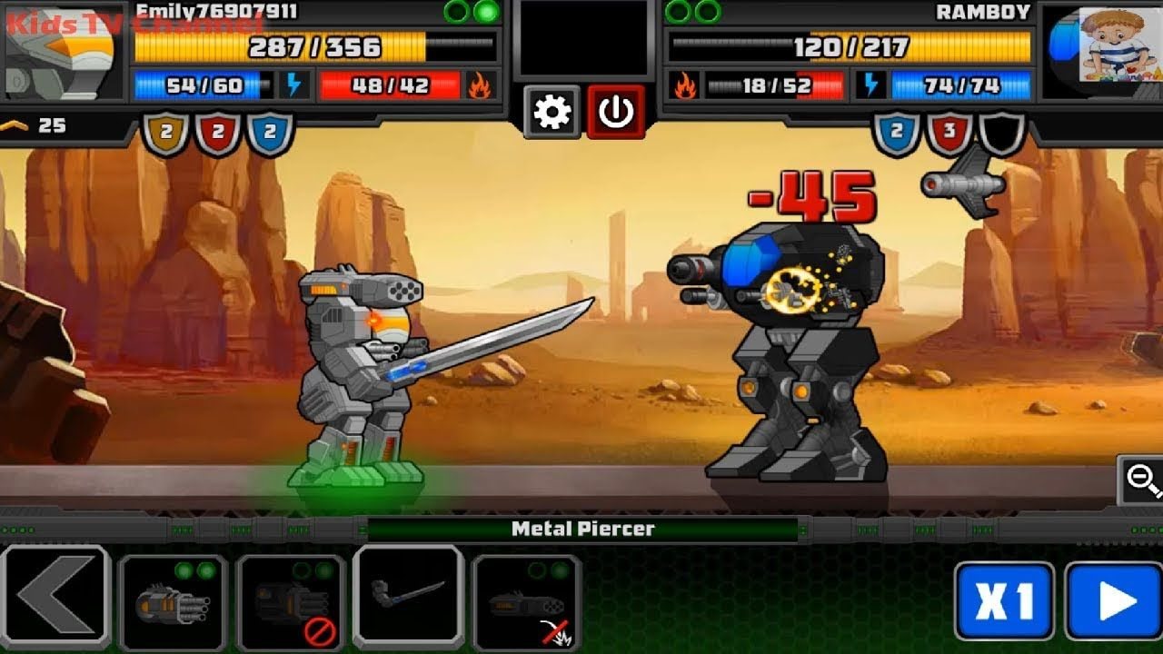 SUPER MECHS: Campaign Level 1 To 6 Completed (iOS, Android