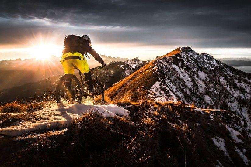 2048x1197 Mountain Biking Extreme Sports Wallpaper Hd Free Download Mountain Biking Mtb Sports Wallpapers