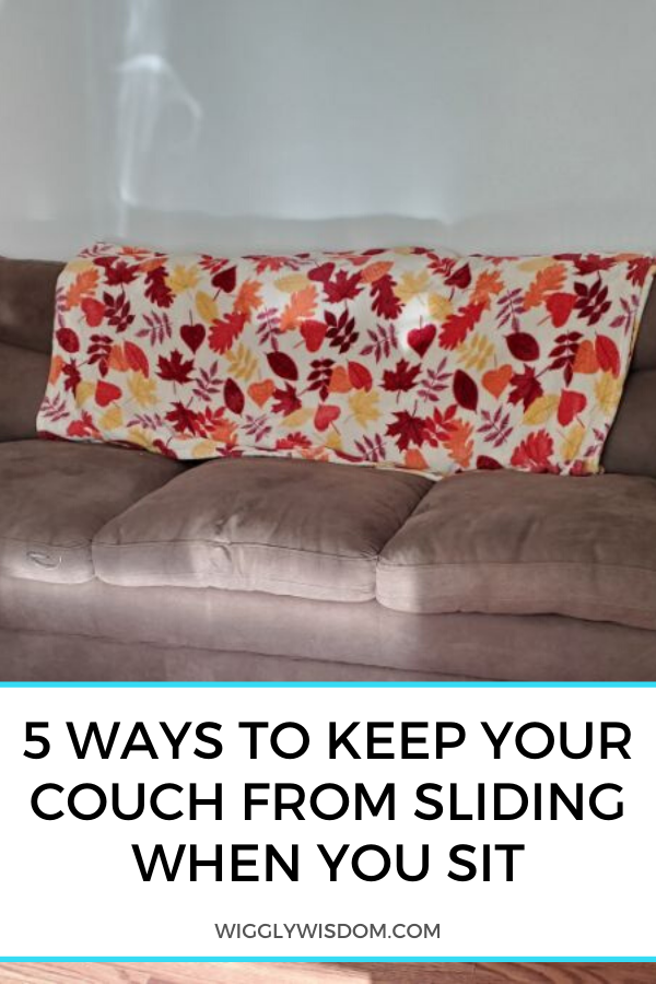 5 Simple Ways To Keep Your Couch From Sliding Whenever You Sit