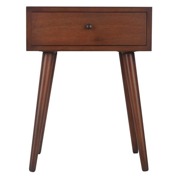 Grant End Table Earthy style Drawers and Bedrooms