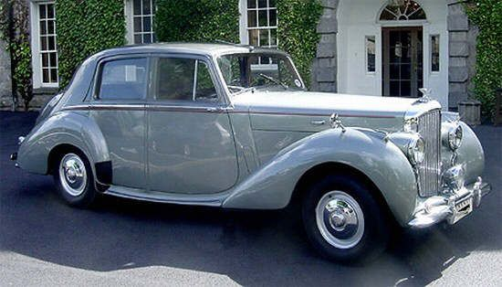 1954 Bentley Car Picture Voiture