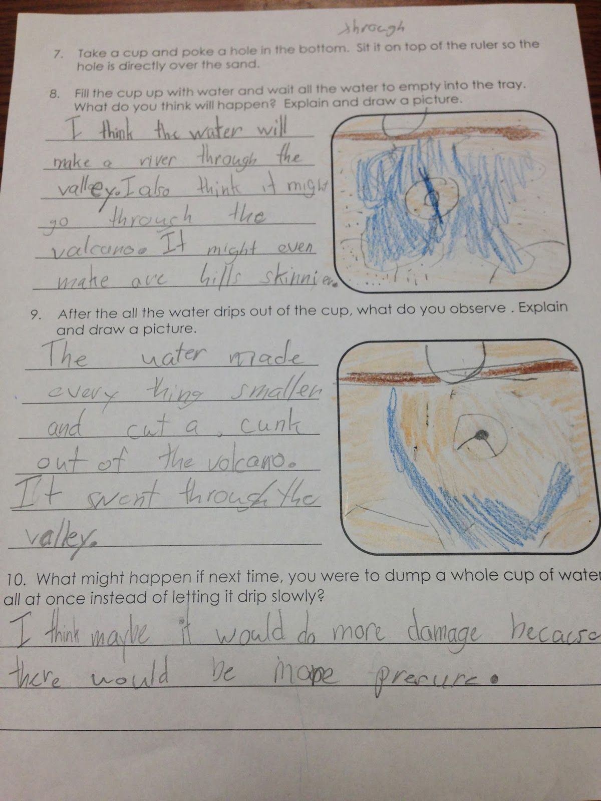 Are You Teaching About Rocks And Minerals Grab This Free Science Lab On Erosion That Your