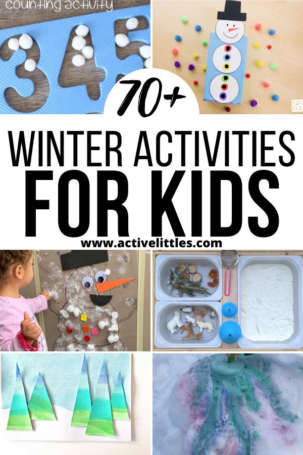 Photo of Winter Activities for Toddlers, Preshoolers and Kindergarteners – Active Littles