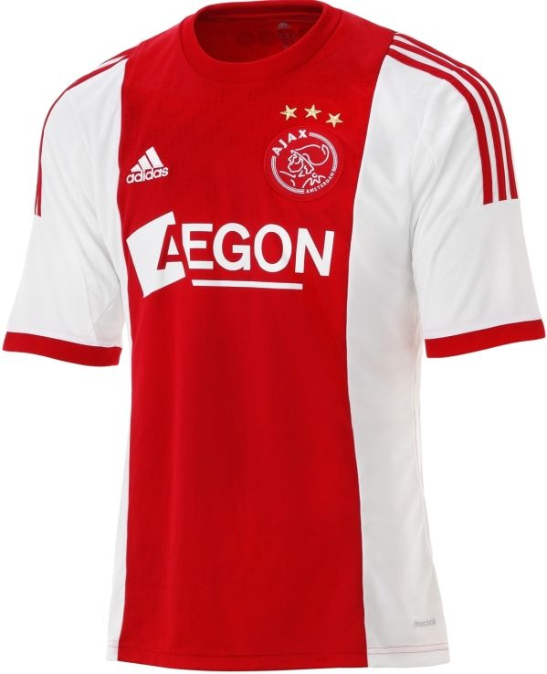 new product 66973 a8295 Ajax Home Jersey 2013-14 Adidas | Sport Shirts | Football ...
