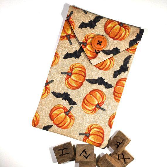 Bats and moon Tarot deck bag tarot bag tarot pouch