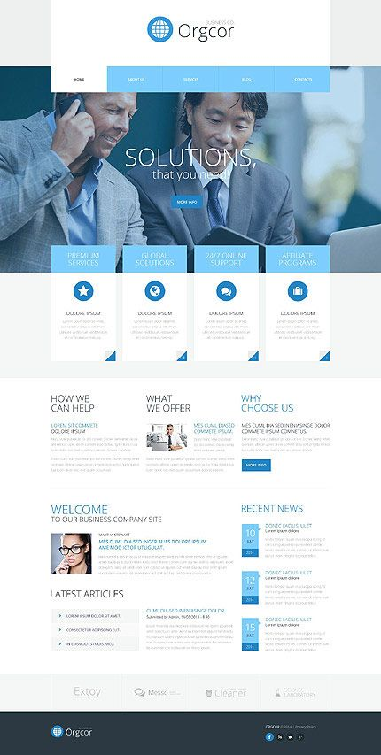 28 stylish looking wordpress business themes 2018 pinterest orgor templatemoster templates accmission Images