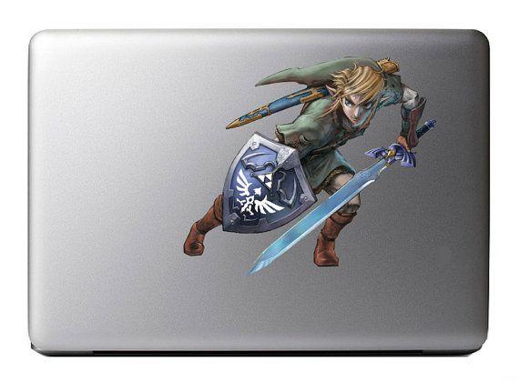Zelda Mac Decal July 2017