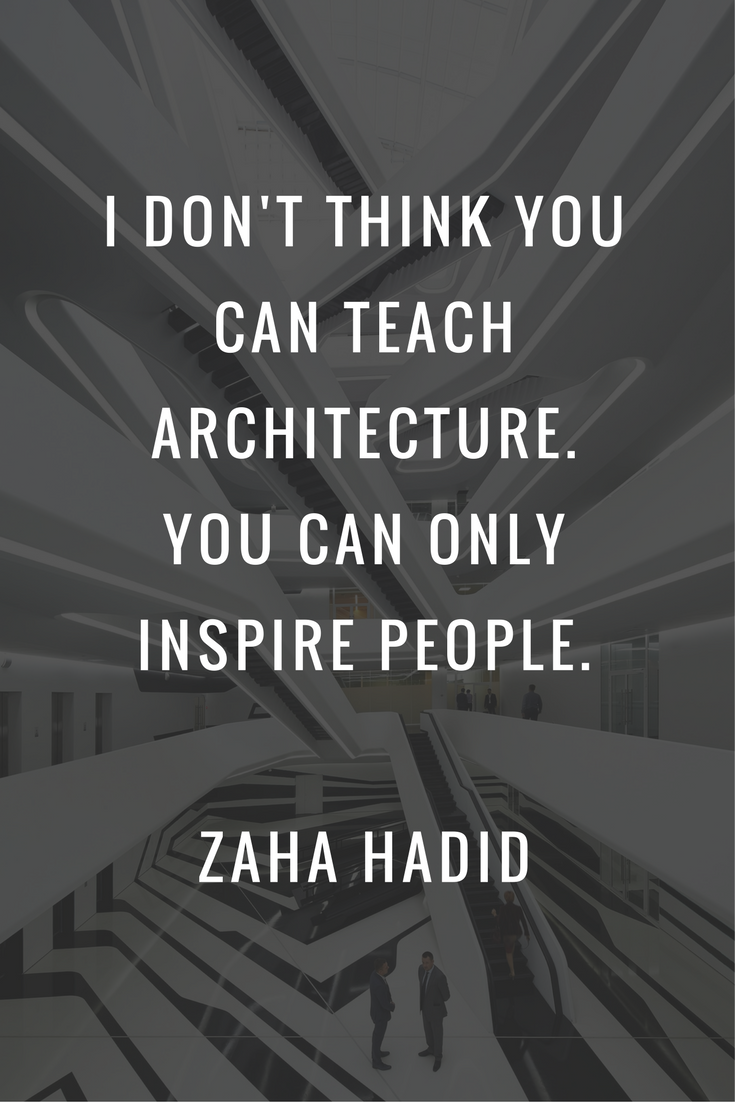 7 Inspirational Quotes From Famous Architects is part of architecture - The beauty of design surrounds us wherever we go  From the emotion that overcomes you when entering a building to walking through a city