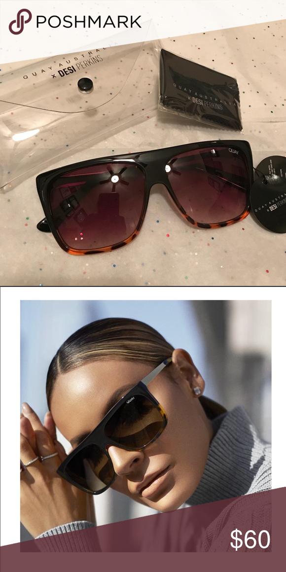 36a527ca22 Quay x Desi OTL II sunglasses NWT. Never worn. QuayxDesi OTL II sunnies.