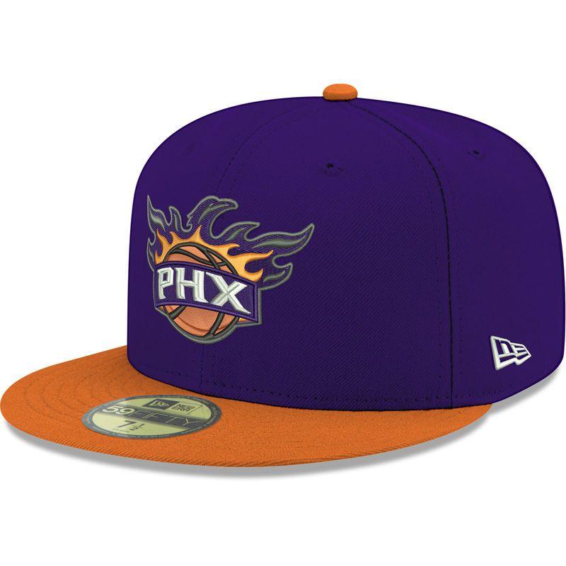 sports shoes 4fd8d faa3a Phoenix Suns New Era 2Tone 59FIFTY Fitted Hat - Purple