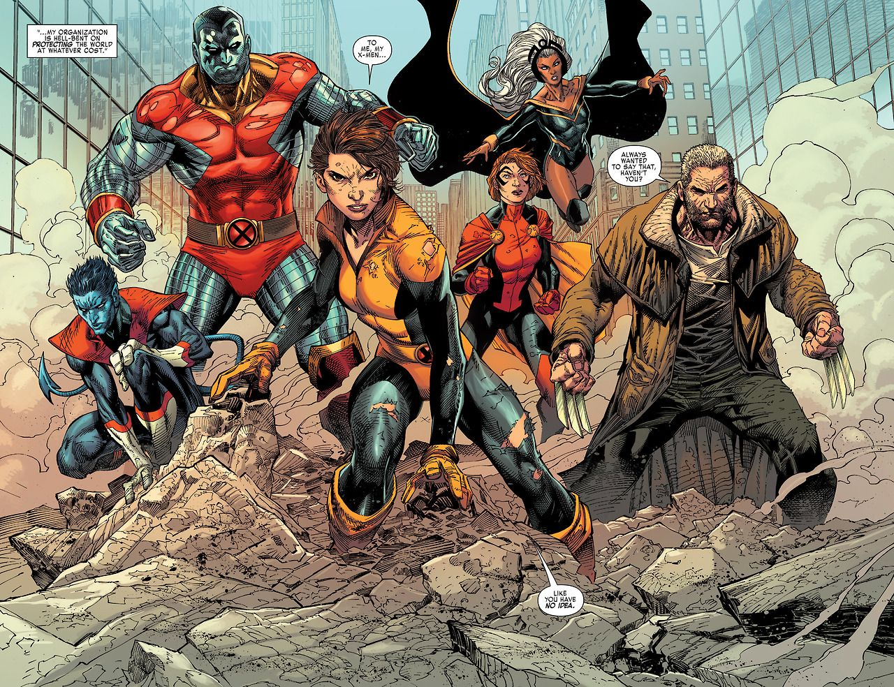 Kitty Pryde S X Men Group Shot In X Men Gold 01 2017 Comics X Men Marvel Comics