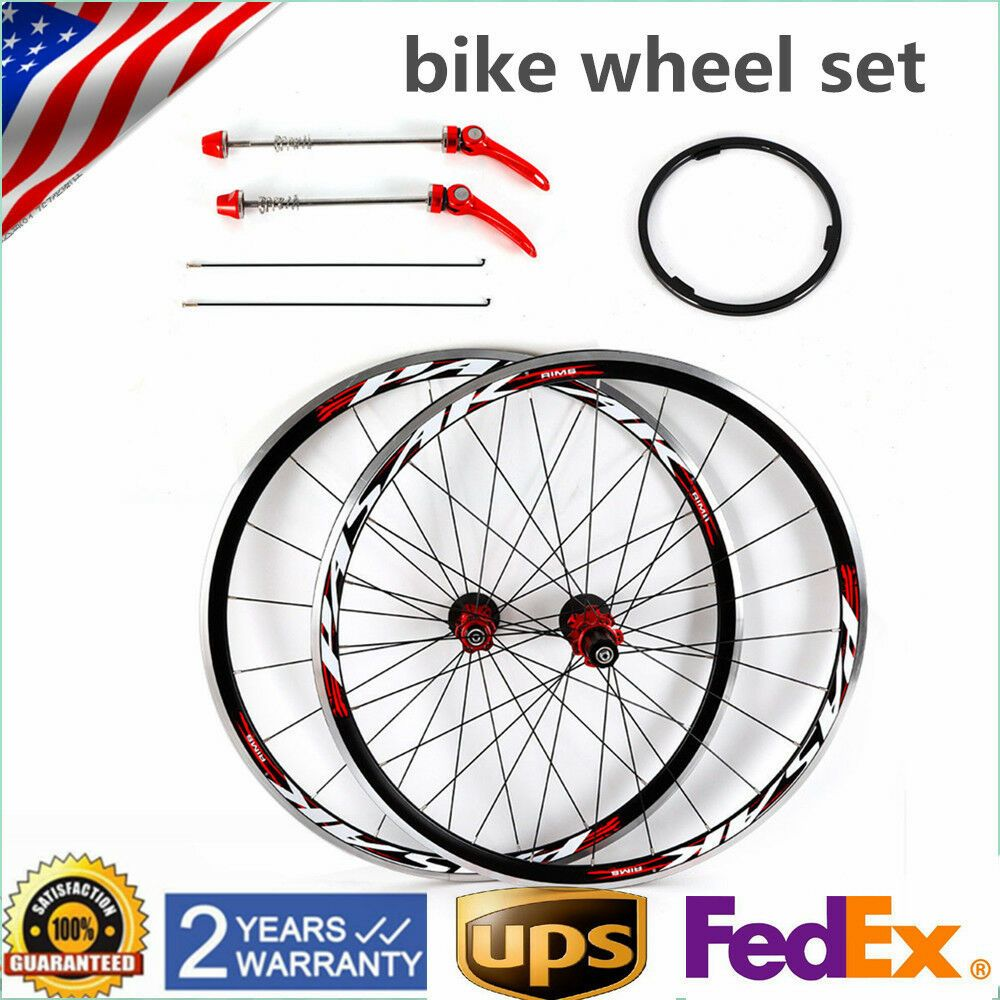 Sponsored Ebay Usa 700c Bicycle Bike Wheel F R Front Rear Wheel