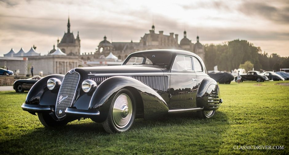 Alfa Romeo 8C 2900 claims 'Best of Show' at the 2016 Chantilly Arts & Elegance | Classic Driver Magazine