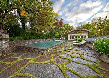 Mid-Century Modern Residence & Garden - midcentury - Landscape - Dallas - Harold Leidner Landscape Architects #haroldleidner