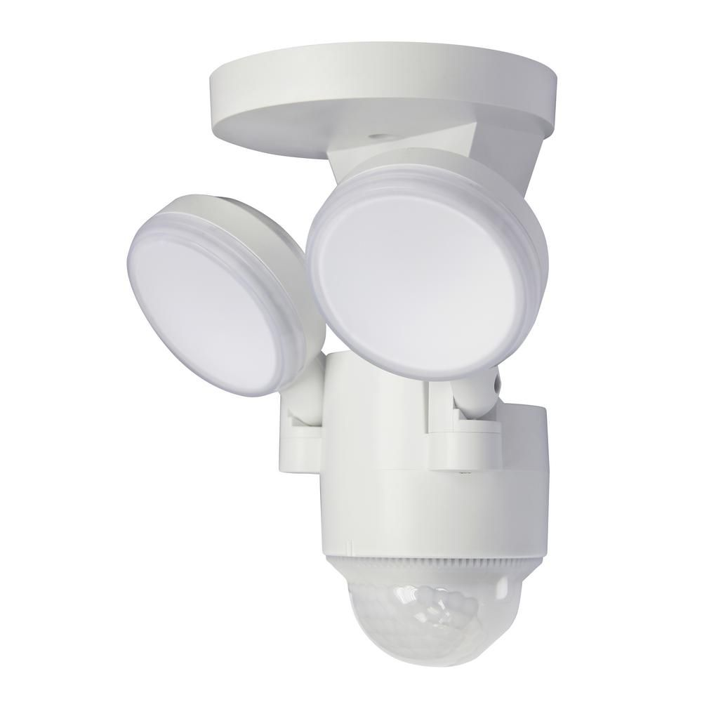 180 Degree White Motion Activated Outdoor Integrated Led Flood