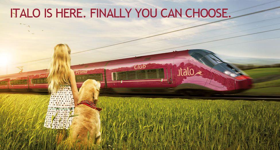 Italy's new high speed train