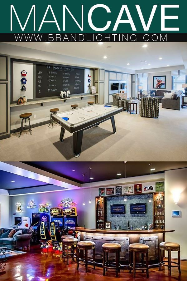 Lighting Ideas For Your Man Cave Decor