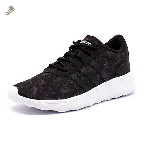 precio al por mayor niño atesorar como una mercancía rara Adidas Women's Lite Racer W, FLORAL-BLACK/WHITE, 5.5 US - Adidas ...