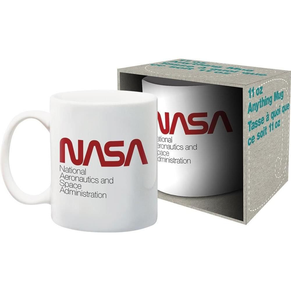Nmr Distribution Nasa Red Logo 11oz Ceramic Coffee Mug In 2020 Mugs Coffee Mugs Red Logo