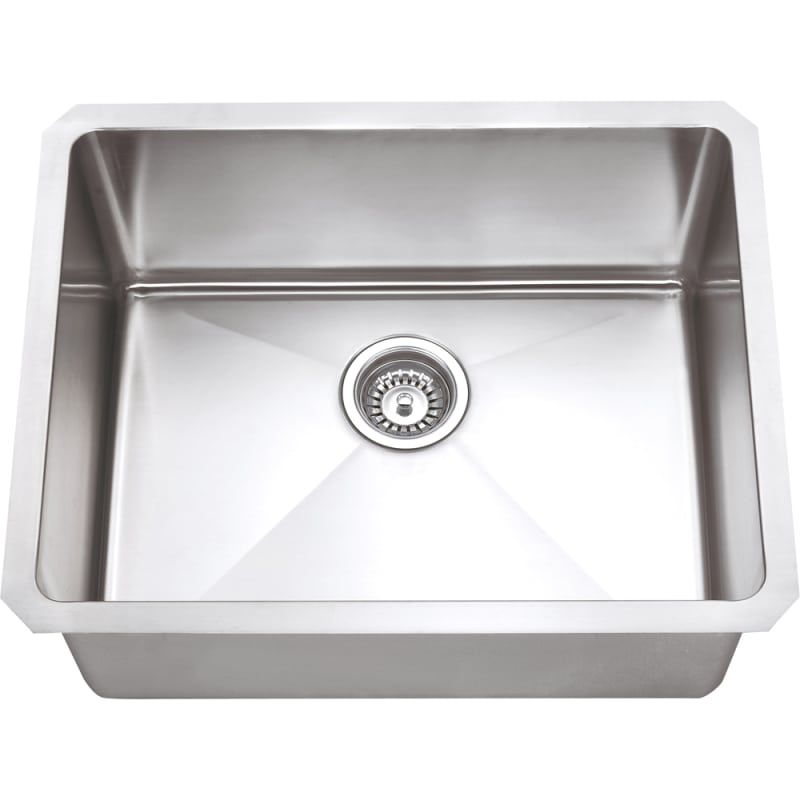 Hardware Resources Hms175 Sink Undermount Stainless Steel Sink