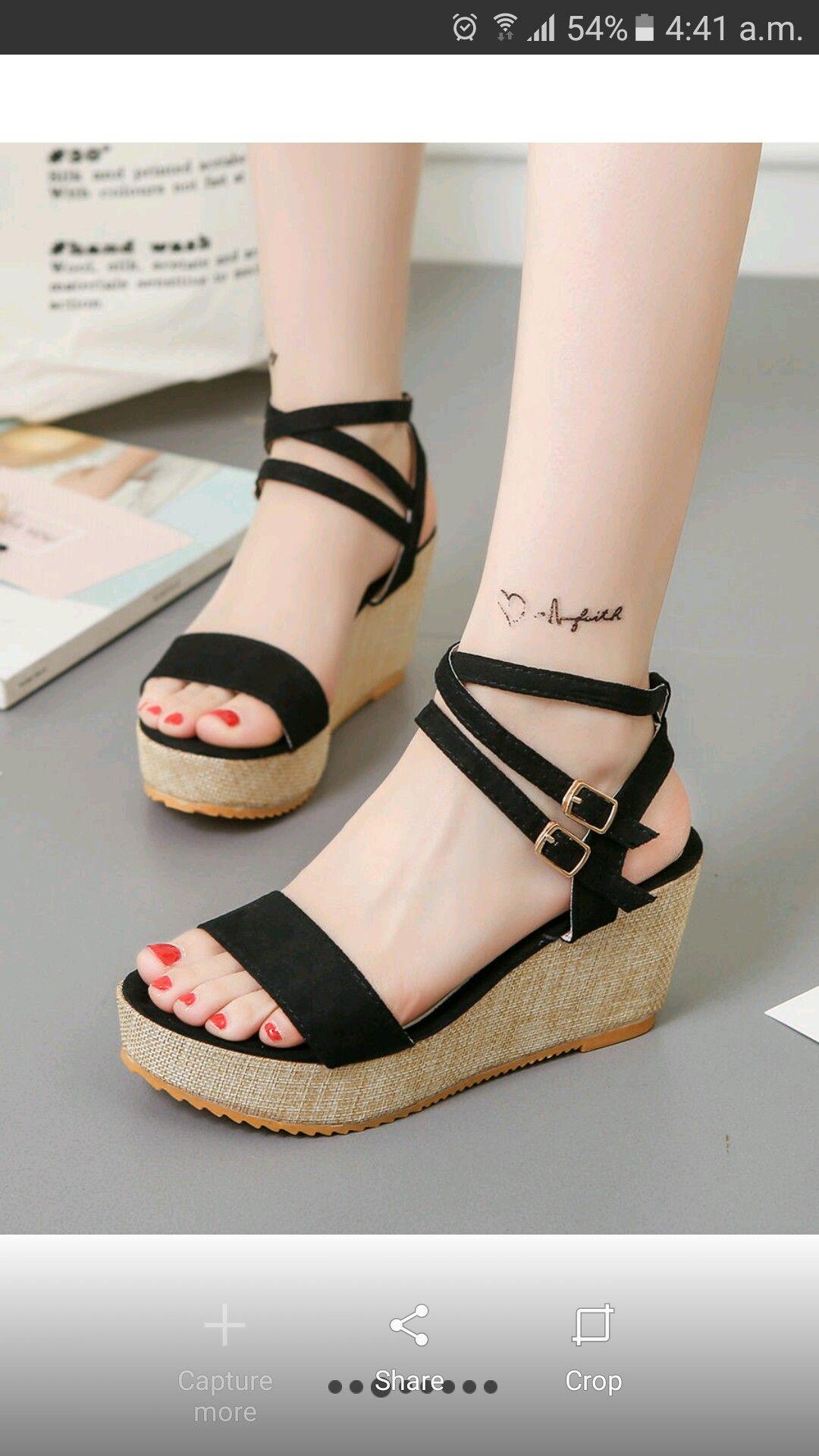 Pin de SaraBrownie en Moda♥ | Zapatos de tacon corrido