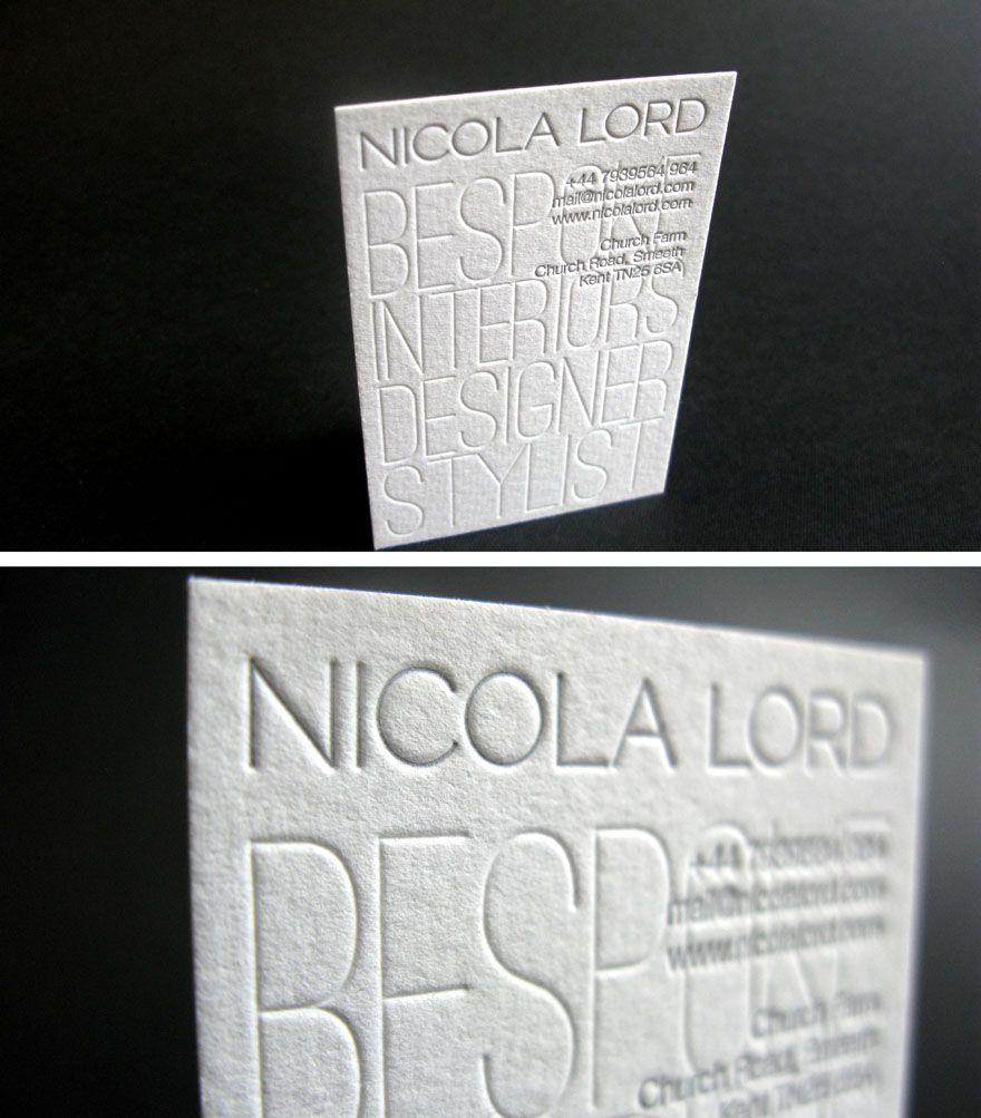 Interior decorator business cards designs