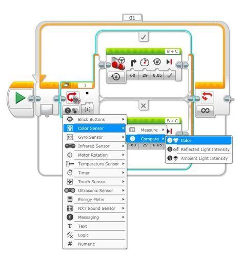 EV3 Programming Sensors | STEM Education | Robots | Lego nxt