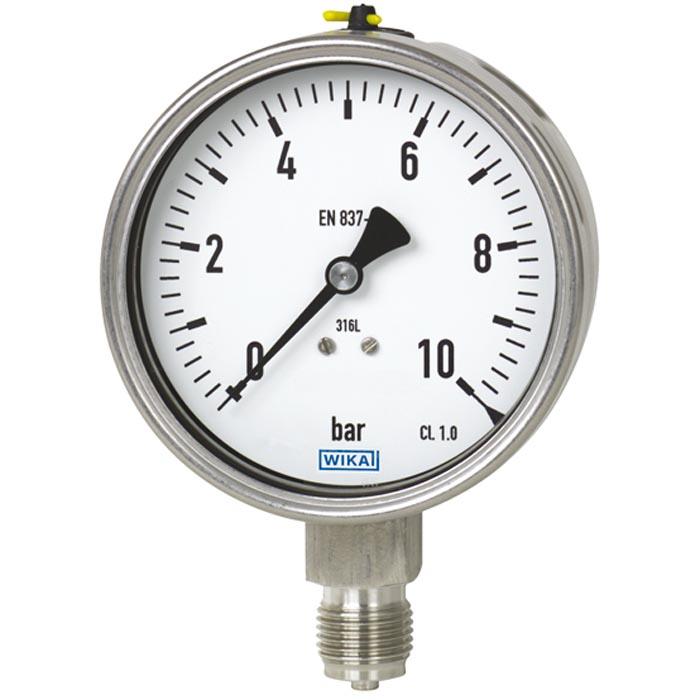 232 50 100 4bar G1 2a Pressure Gauge Combination Wika Air Pressure Gauge Pressure Gauge Gauges