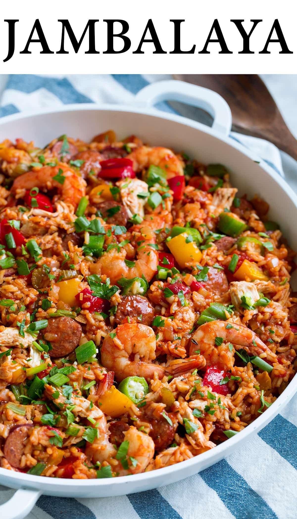 Photo of Jambalaya Recipe – Cooking Classy
