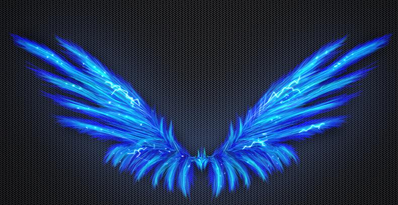 Https Patchsangelsblog Files Wordpress Com 2014 08 Blue Lightning Angel Wings Png Wings Drawing Wings Art Wings Wallpaper