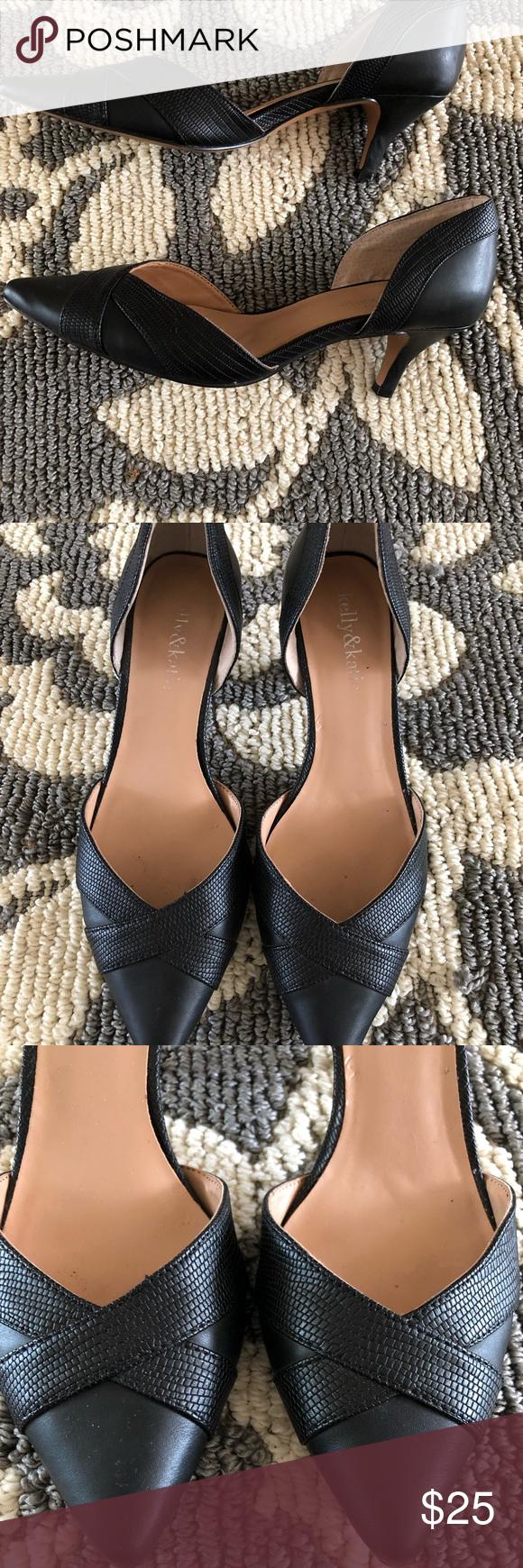 Kelly Katie Candice Shoes Women Heels Kelly Katie Kitten Heel Pumps
