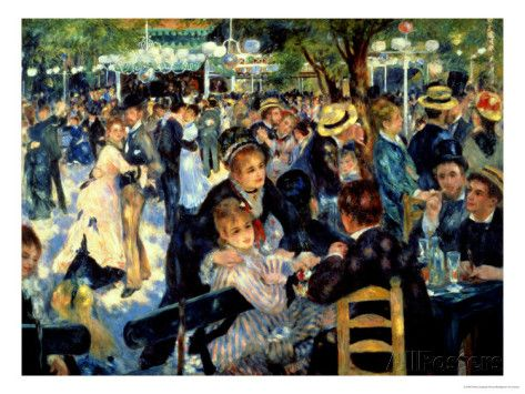 Ball At The Moulin De La Galette 1876 Giclee Print By Pierre