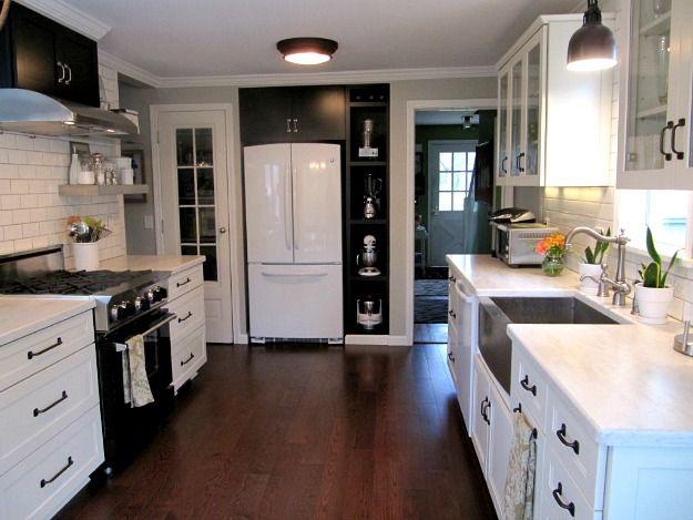 Beautiful Joyceu0027s Black U0026 White Kitchen