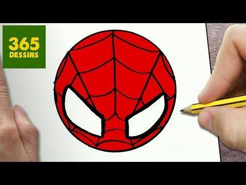 Comment dessiner minion kawaii tape par tape dessins - Dessiner spiderman facile ...