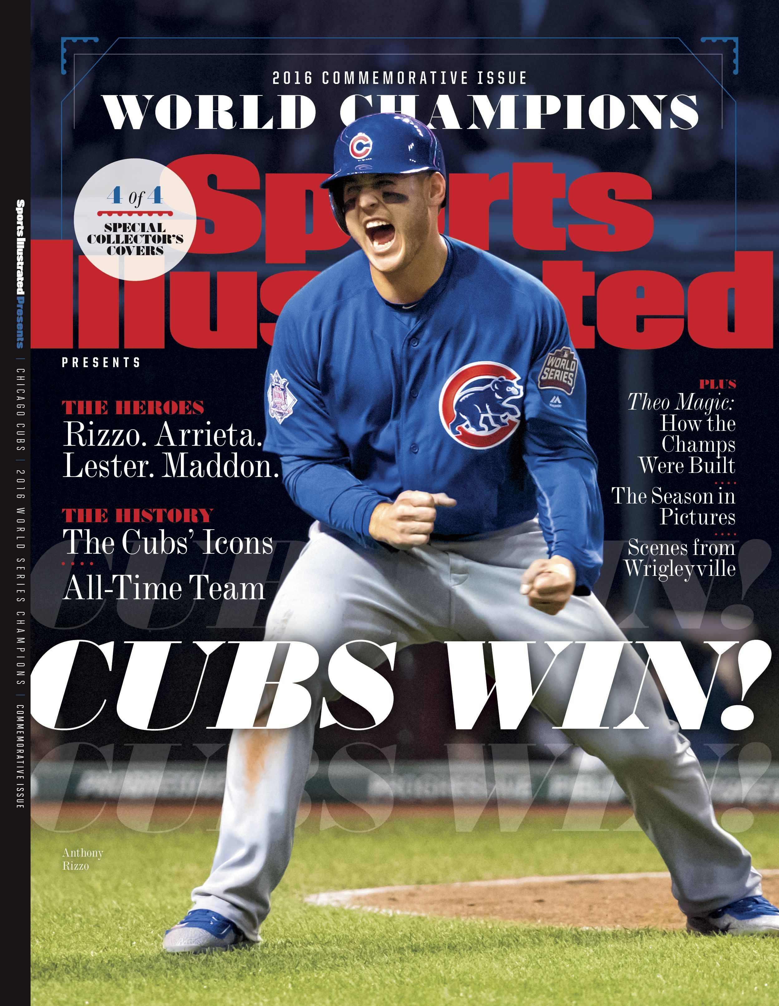e0d28817 Commemorate the Cubs' World Series title with special issues of Sports  Illustrated