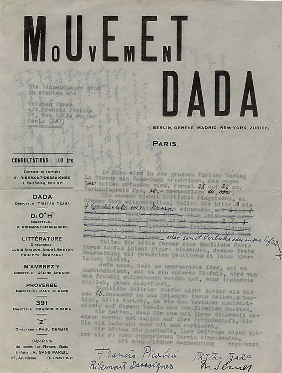 dadaism characteristics